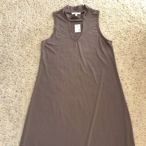 Maurice's taupe jersey knit dress
